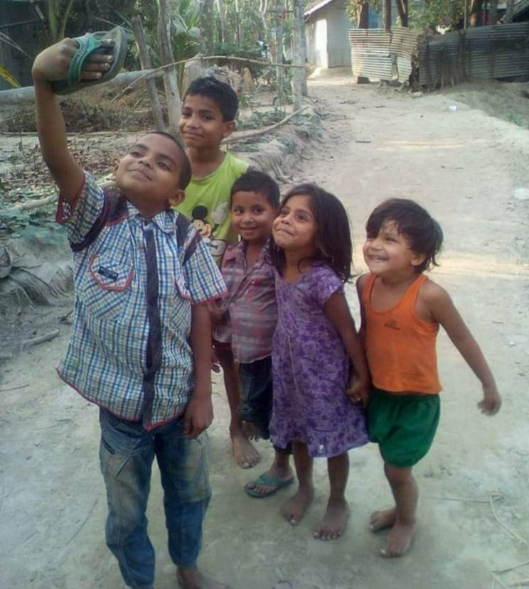 Doesn't this pic prove that happiness is indeed nothing but what we experience thru the conditioning of our mind?!