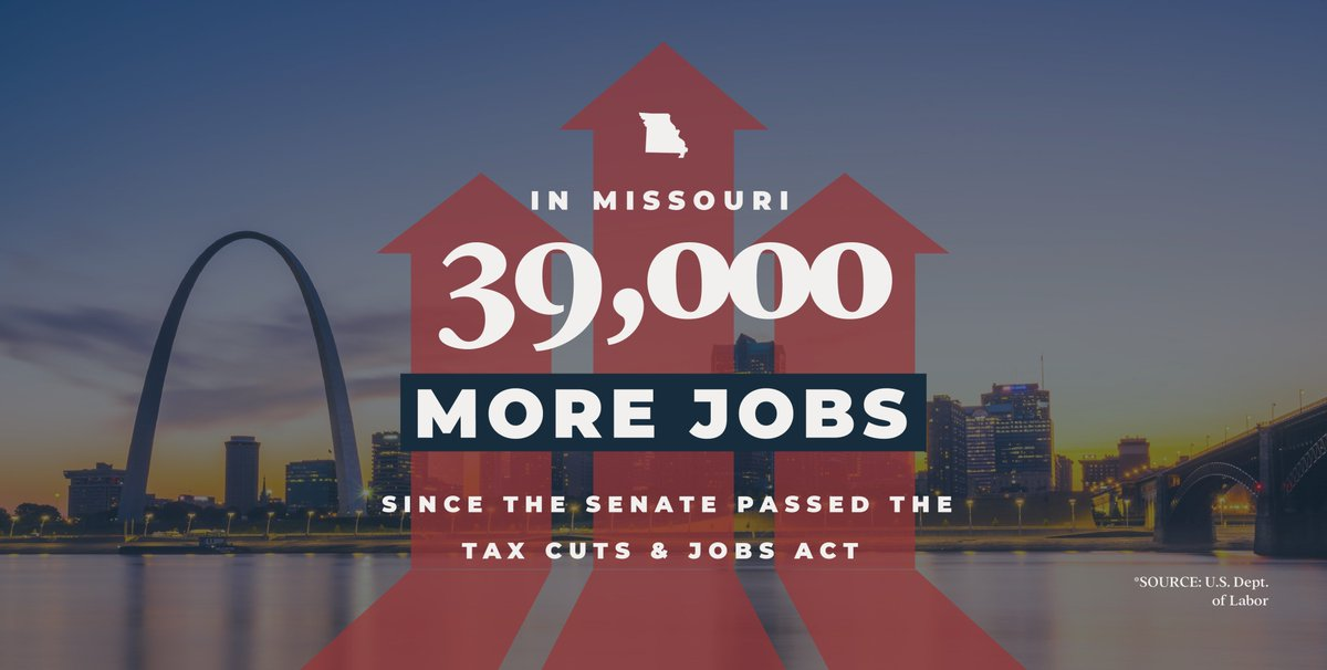 #TaxReform at work for Missourians 👇