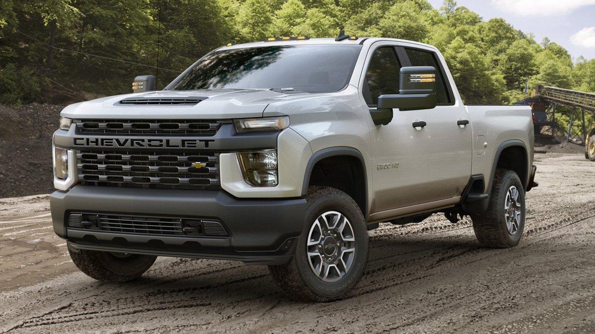 Autoblog On Twitter 2020 Chevrolet Silverado Hd Revealed Tows