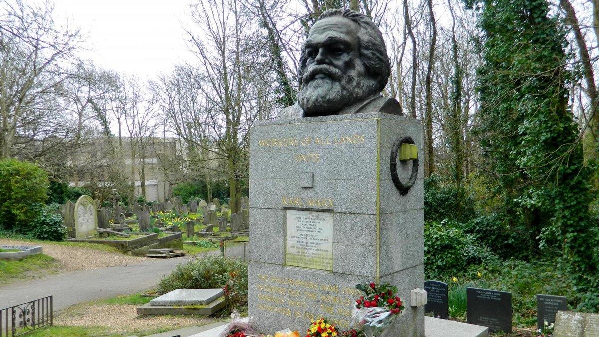 #Londres La tombe de Karl Marx vandalisée https://t.co/Q4wJTnWszZ