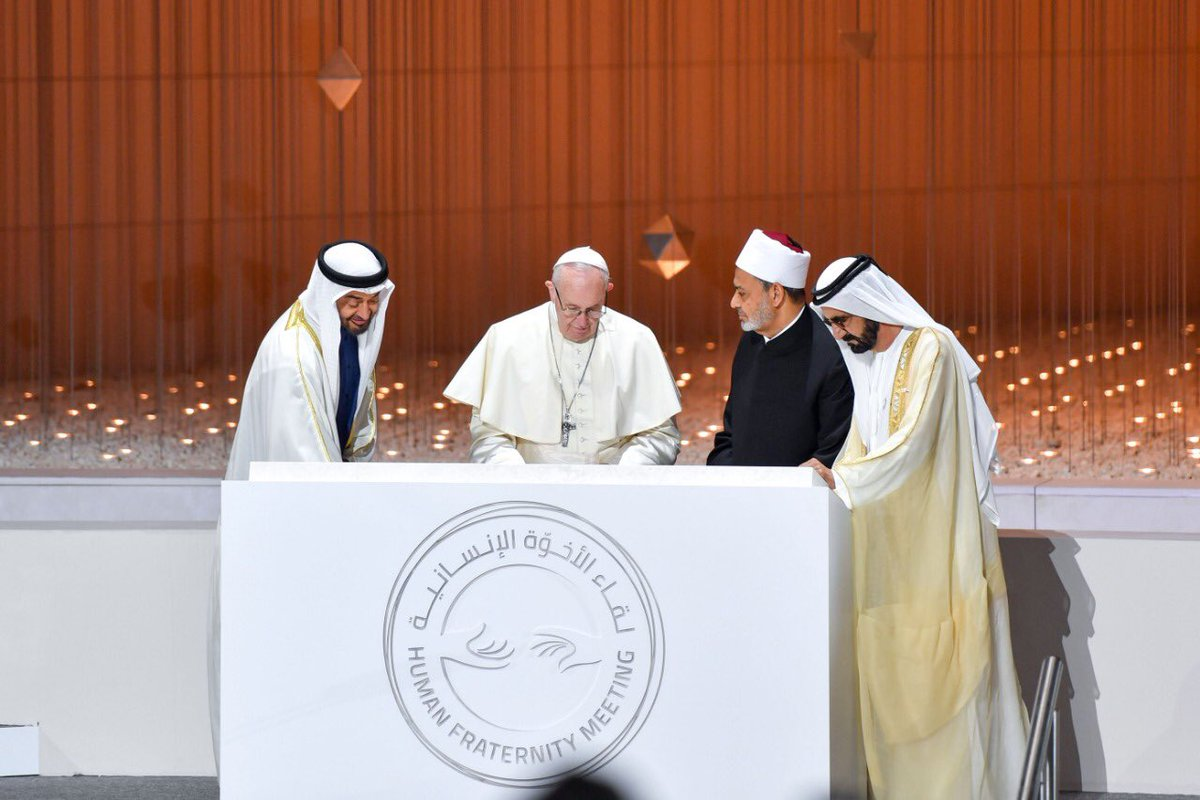 Crown Prince of Abu Dhabi orders construction of House of Abrahamic family