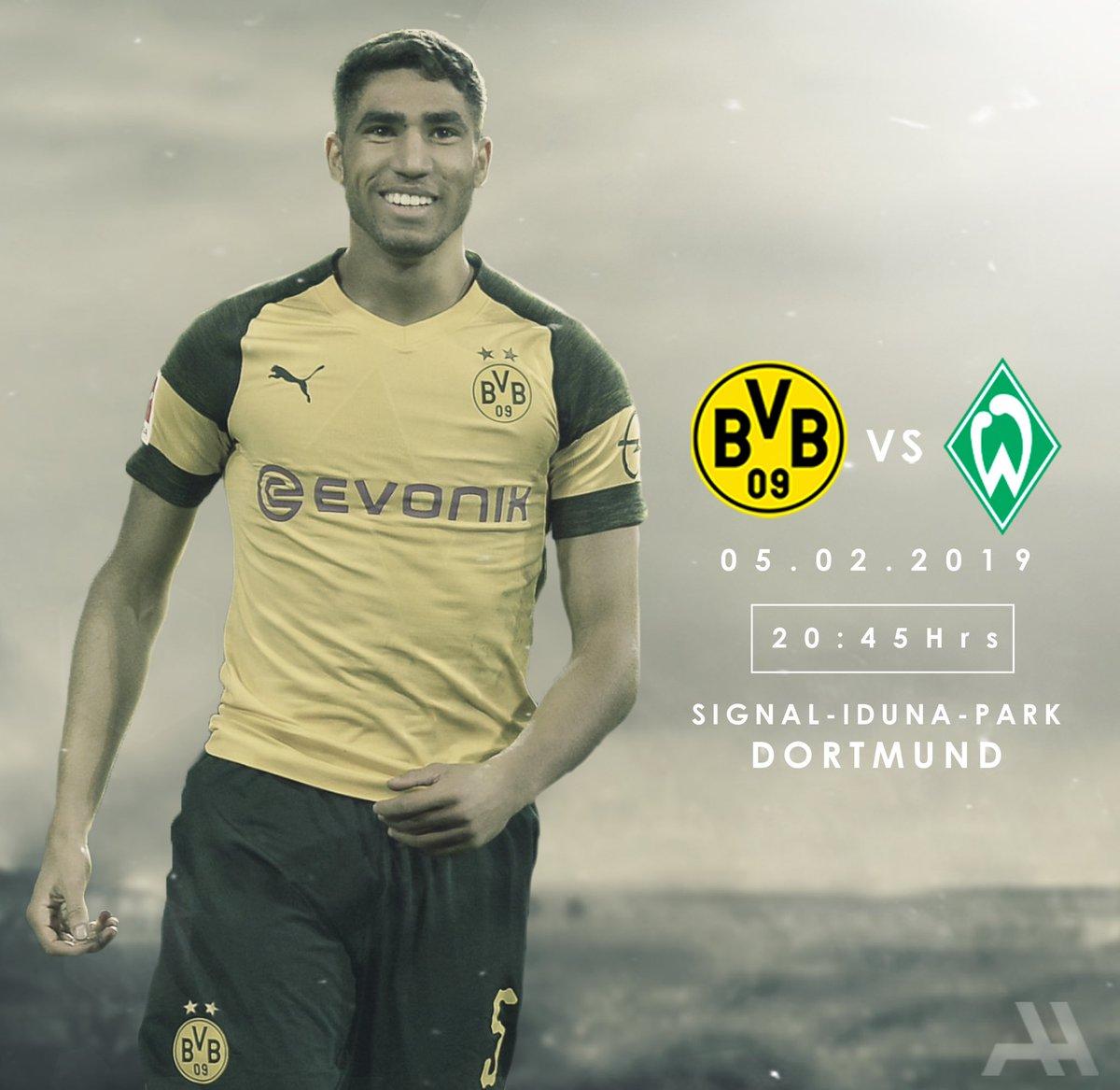 🏆 DFB Pokal 🆚 Werder Bremen 🏟 Signal Iduna Park 🗓️ Tuesday, February 5th ⏰ 20:45 ⚽️🐝 #BVBSVW