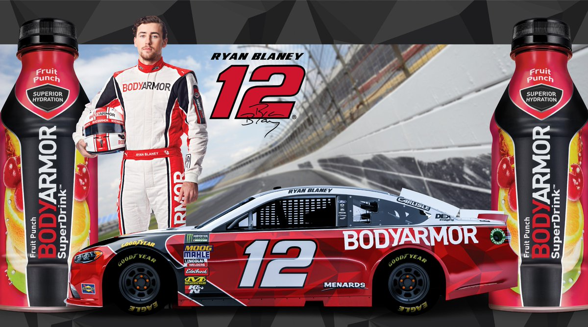 With 12 days to go till Daytona we are giving away 2018 @Blaney 1️⃣2️⃣ Team Penske Ford Fusion diecast mini cars.  Get our last stash before the new ones come in! Just hit us with a retweet to enter 🔥🔥🔥   30 winners will be chosen by 2/12 #TeamBODYARMOR #ObsessedWithBetter