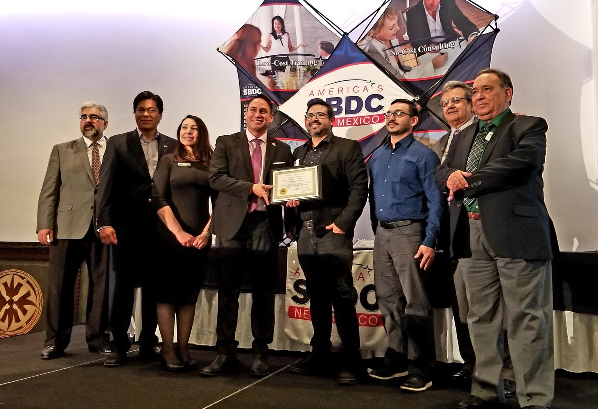 #NM's thousands of small businesses keep our economy moving & are huge employers of our people. I am inspired by the success stories at the  @NMSBDCNetwork Star Client event last night highlighting small businesses like @PopFizzABQ. Congratulations to all awardees! #nmleg #nmleg