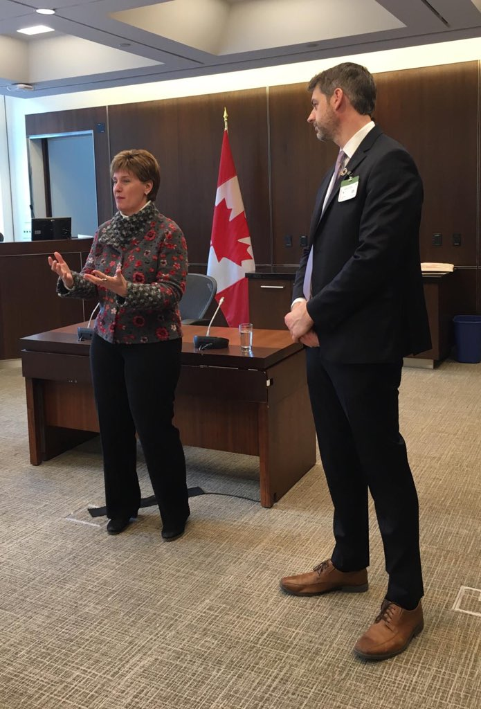 In this #IDW2019 we are with Minister @mclaudebibeau discussing the importance of international development  #CanadaCares #CanadianAid #SDI2019