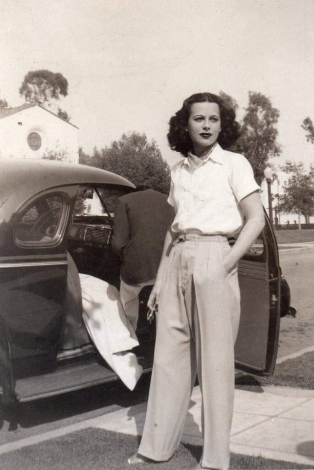 """best of old hollywood on Twitter: """"candid photo of hedy lamarr ..."""