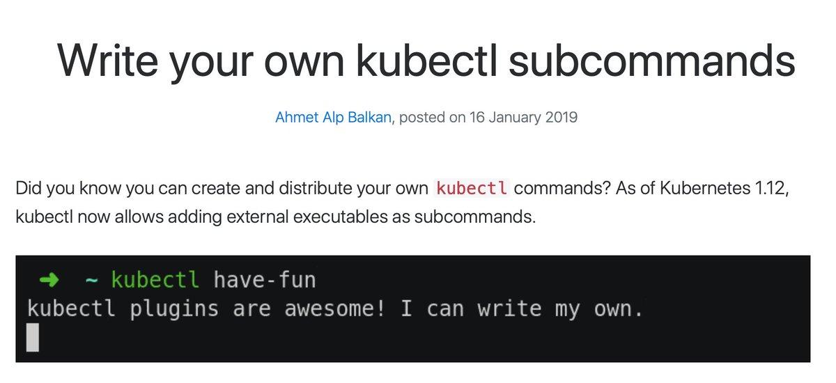 kubectl hashtag on Twitter