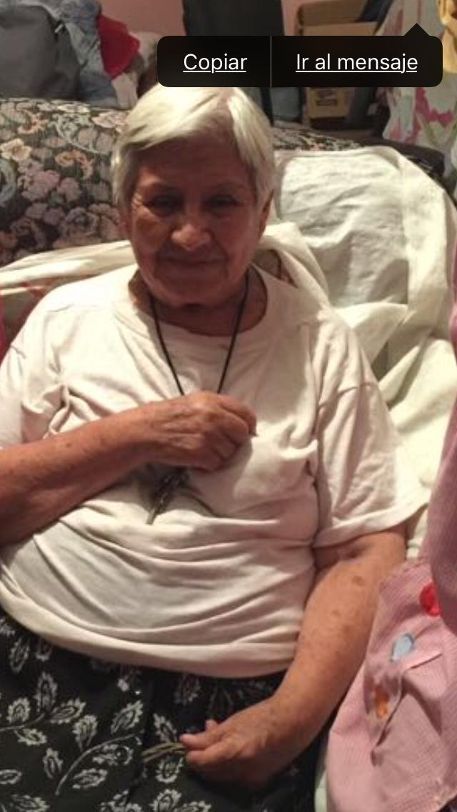 @AlertaPlateada Se agradecera  a llas personas  que  nos  den informacion  de Lucila Cruz Ceron   todos los familiares    estan   angustiados por ella.