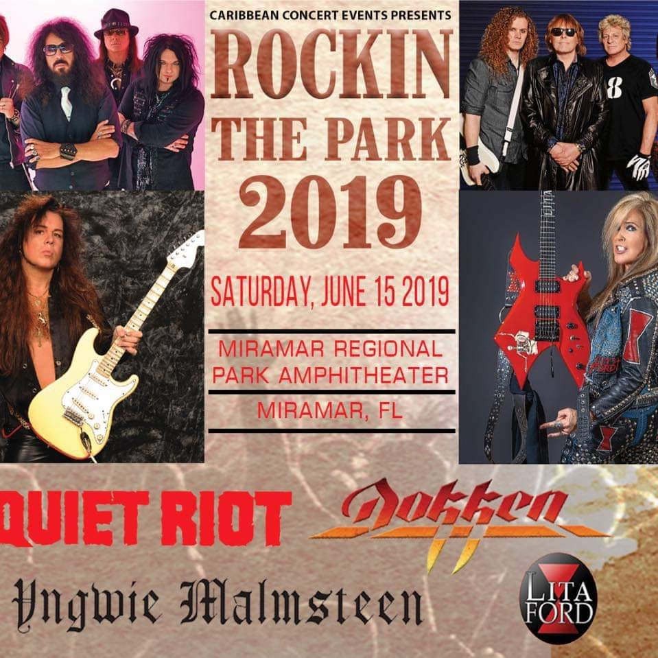FYI.... THE MIRAMAR FLORIDA SHOW SCHEDULED FOR SATURDAY FEBRUARY 23 HAS BEEN RESCHEDULED TO SATURDAY JUNE 15TH. READY TO BANG YOUR HEAD THEN!