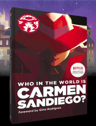 Join @HMHkids for the B&N Kids' Book Hangout on February 9th featuring the book, WHO IN THE WORLD IS #CARMENSANDIEGO! Visit http://barnesandnoble.com/h/bn-hangouts for more details #BNHangout