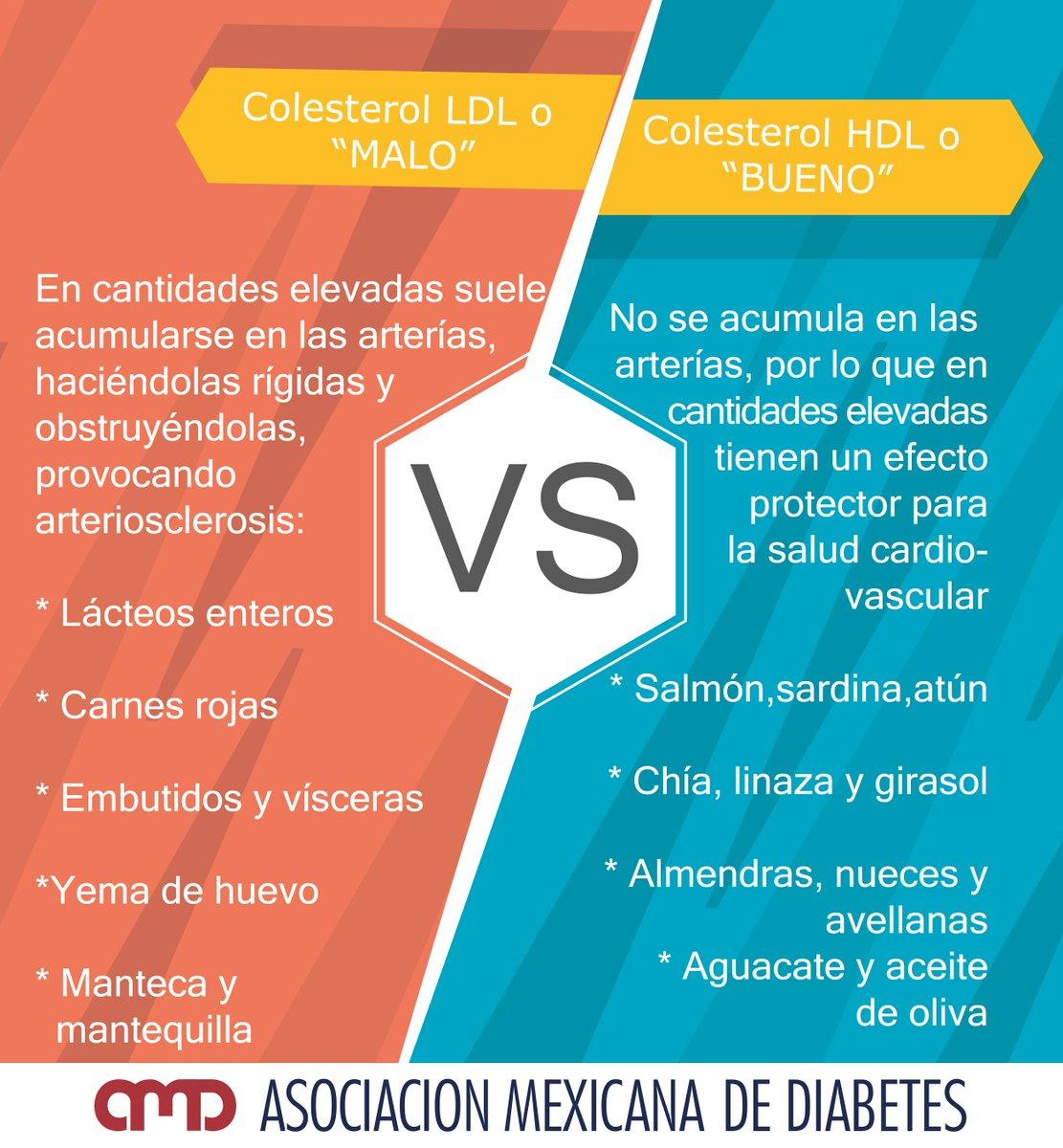 diferencia entre el colesterol hdl y ldl