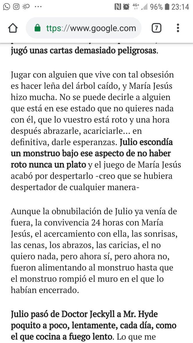 El mundo sobre la expulsión de Julio. @elmundoes   María jesús ha jugado qué? María jesús ha despertado qué?  https://www.elmundo.es/television/momentvs/2019/02/04/5c57cc4621efa080738b4676.html…  #GHDUOLimite4  #GHDUO5F