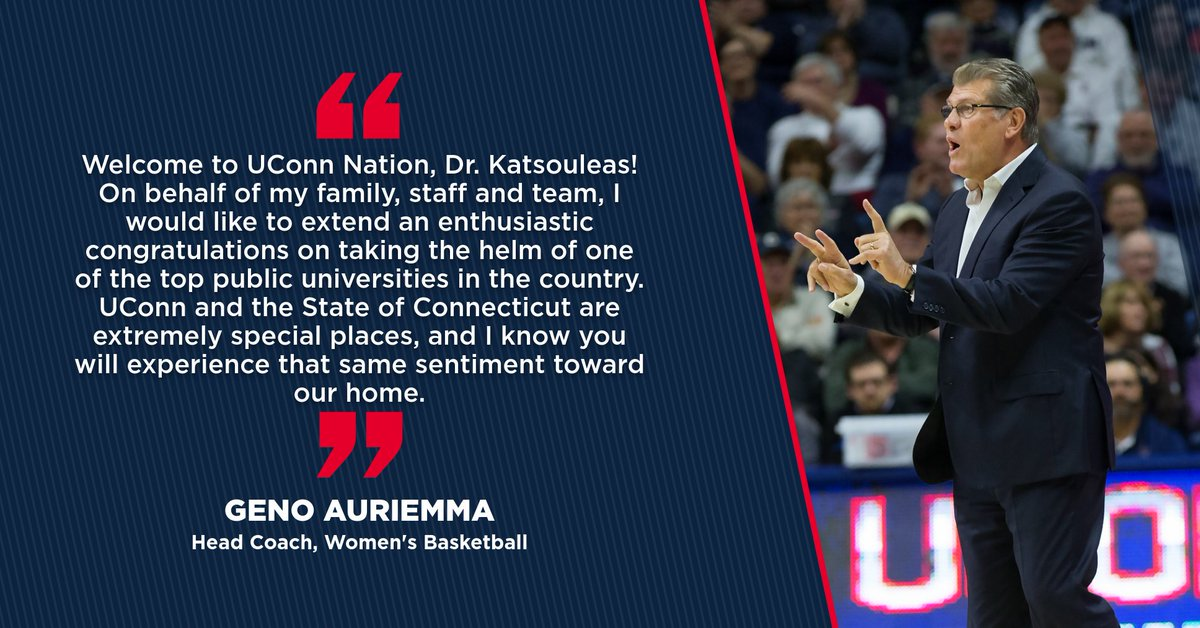 Read what some of our head coaches had to say to incoming President Tom Katsouleas.  #BleedBlue