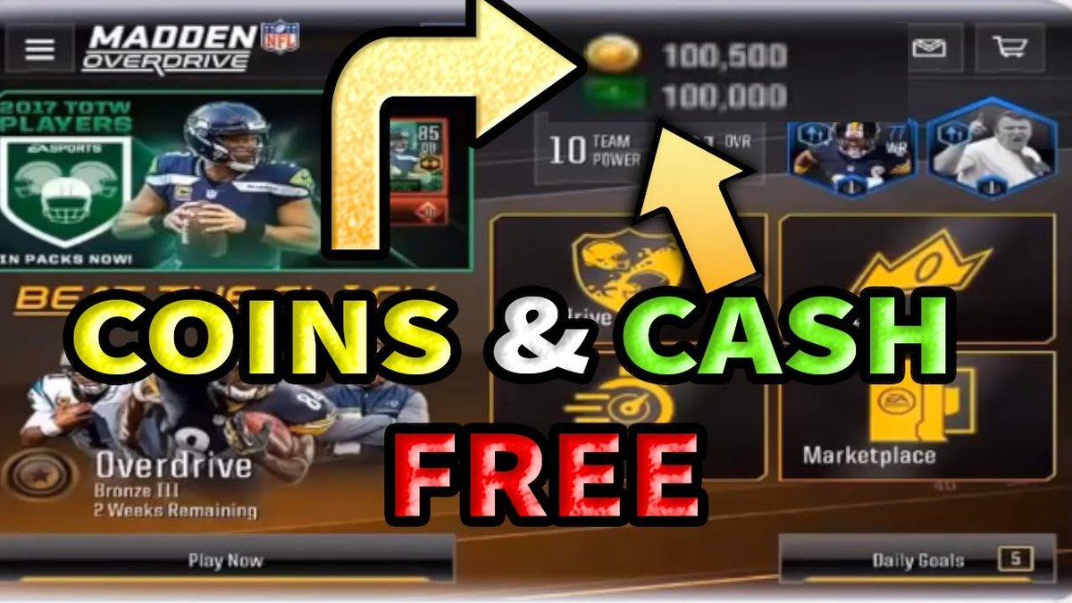 Madden Nfl Mobile Free Coins Nflmaddenhack Twitter