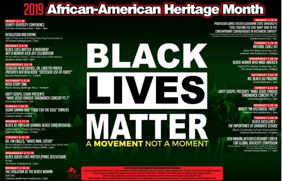 There are still plenty of events to go to for Black History month. Be sure to check them out!