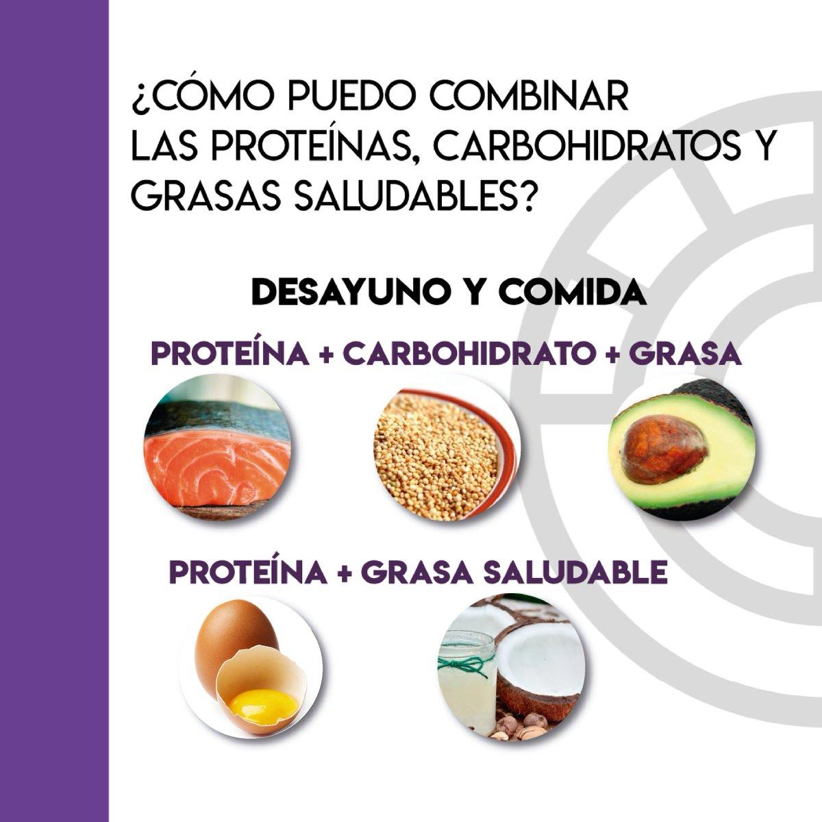 no combinar proteinas con carbohidratos