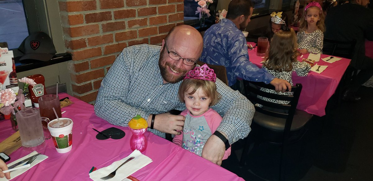 Daddy And Daughter Night Out Happening At Chilis Rowlett At Ernest
