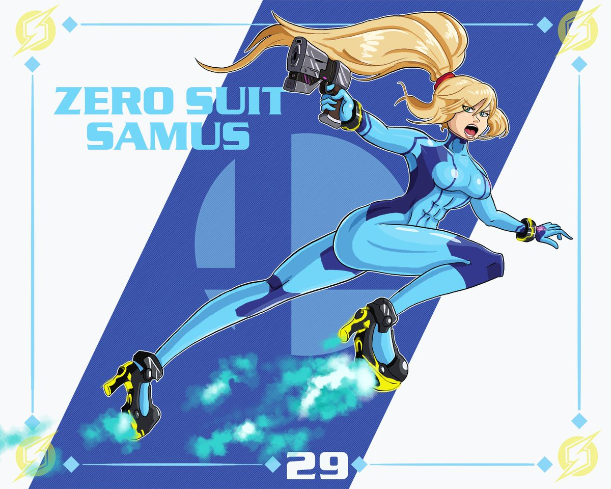 Here, take all the Samuses (Samus's? Sami?) I don't care anymore. Comes in Actual Space Bounty Hunter Body Build and Bimbo Bounty Babe Blaster #SuperSmashBrosUltimate