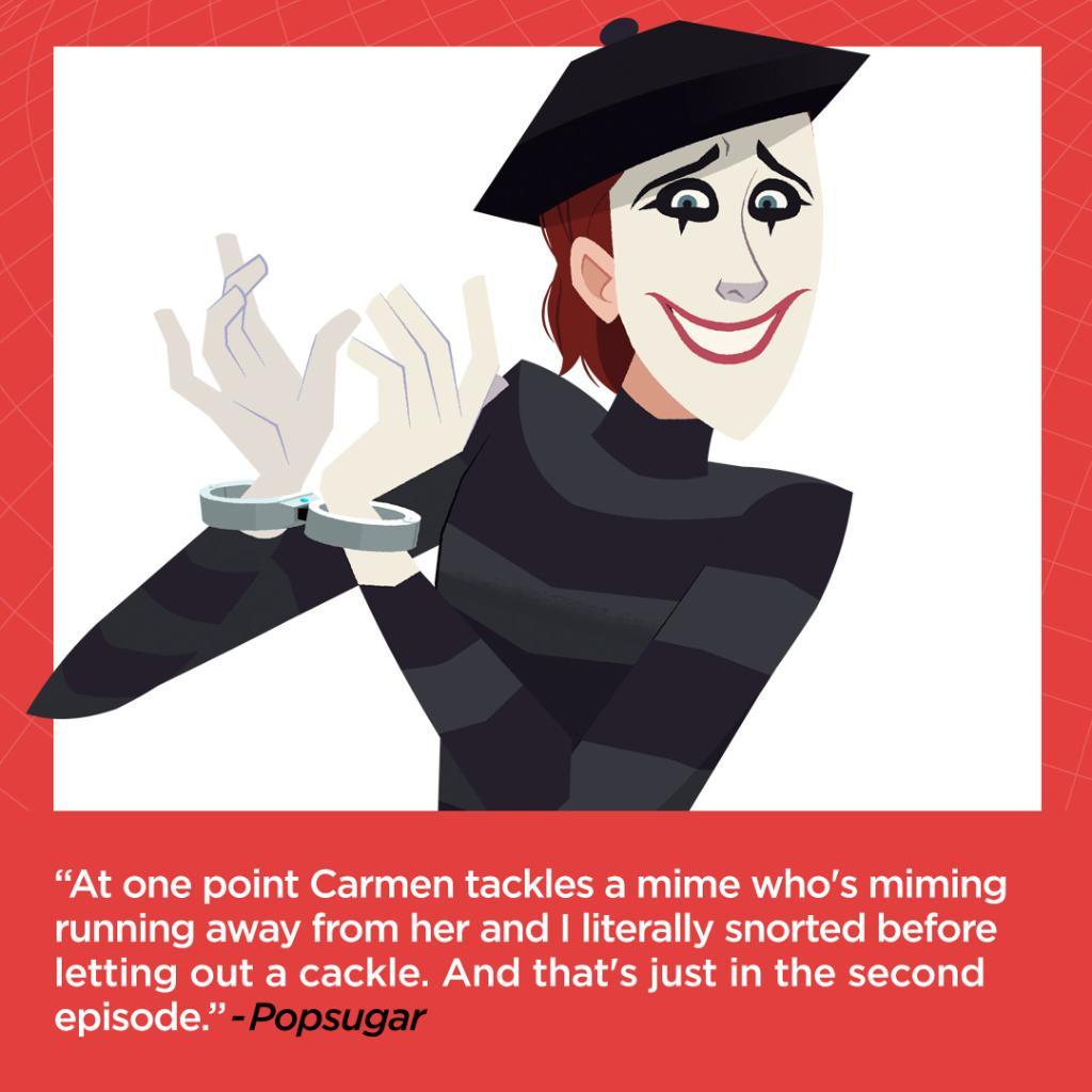 Who hasn't tackled every episode of Carmen Sandiego yet? Watch now on @Netflix #CarmenSandiego #FollowtheFedora