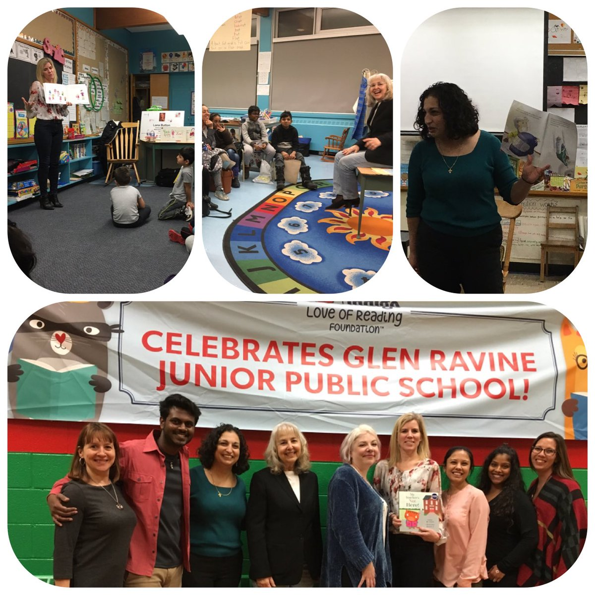 📚@GlenRavineJrPS celebrates  Family Literacy Night with our community. Thank you @Indigo_YandE our host store @IndigoLOR for bringing authors Lana Button, Stella Partheniou Grasso & Lucy Falcone. What an amazing evening for all! @LC3_TDSB @schan_tdsb @dzervas_tdsb