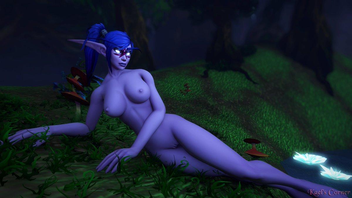 Half clothedhalf naked characters