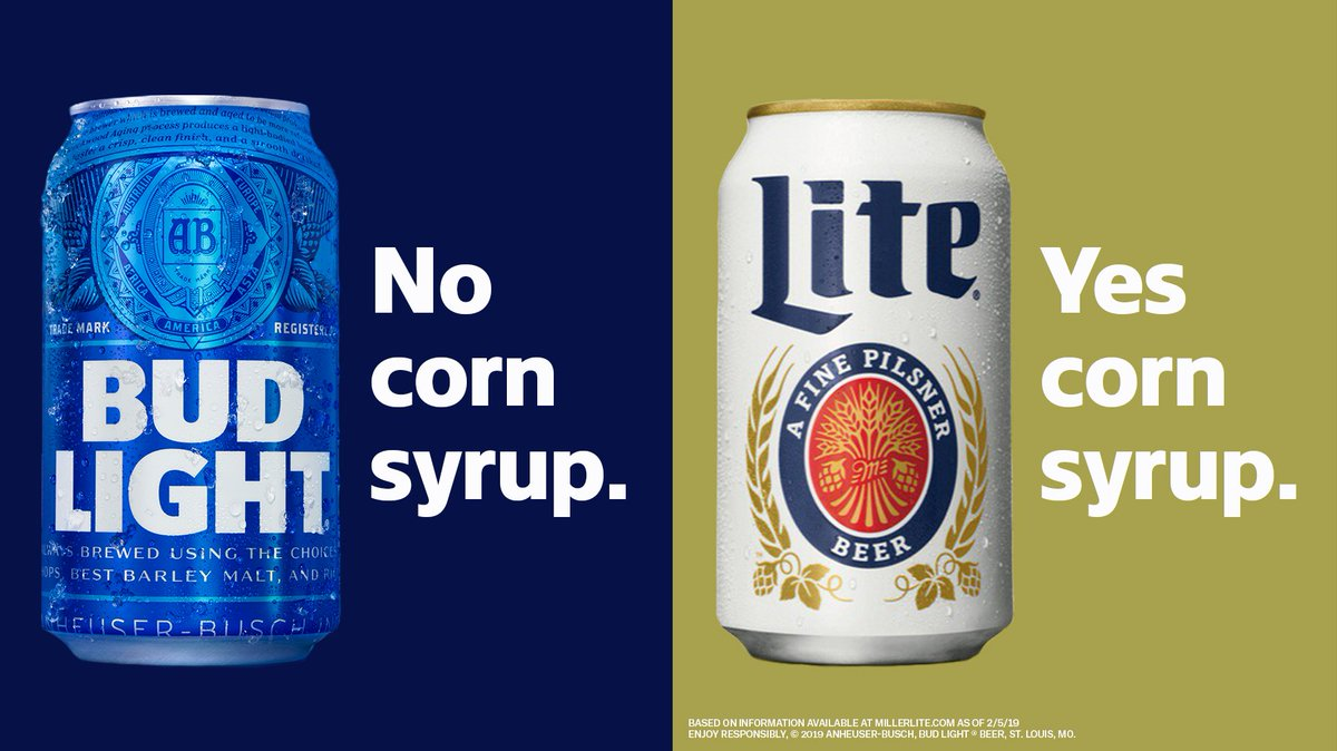 corn syrup in beer