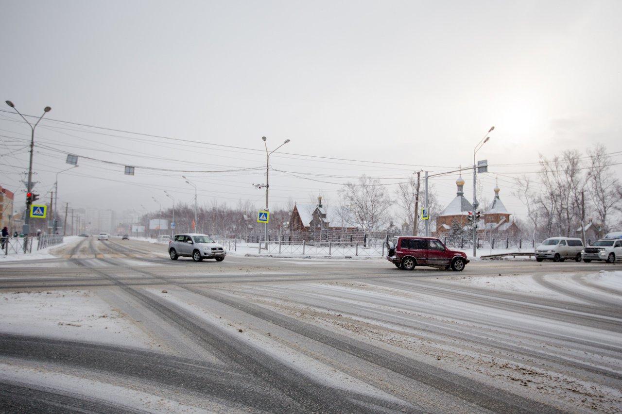 светофор южно сахалинск фото