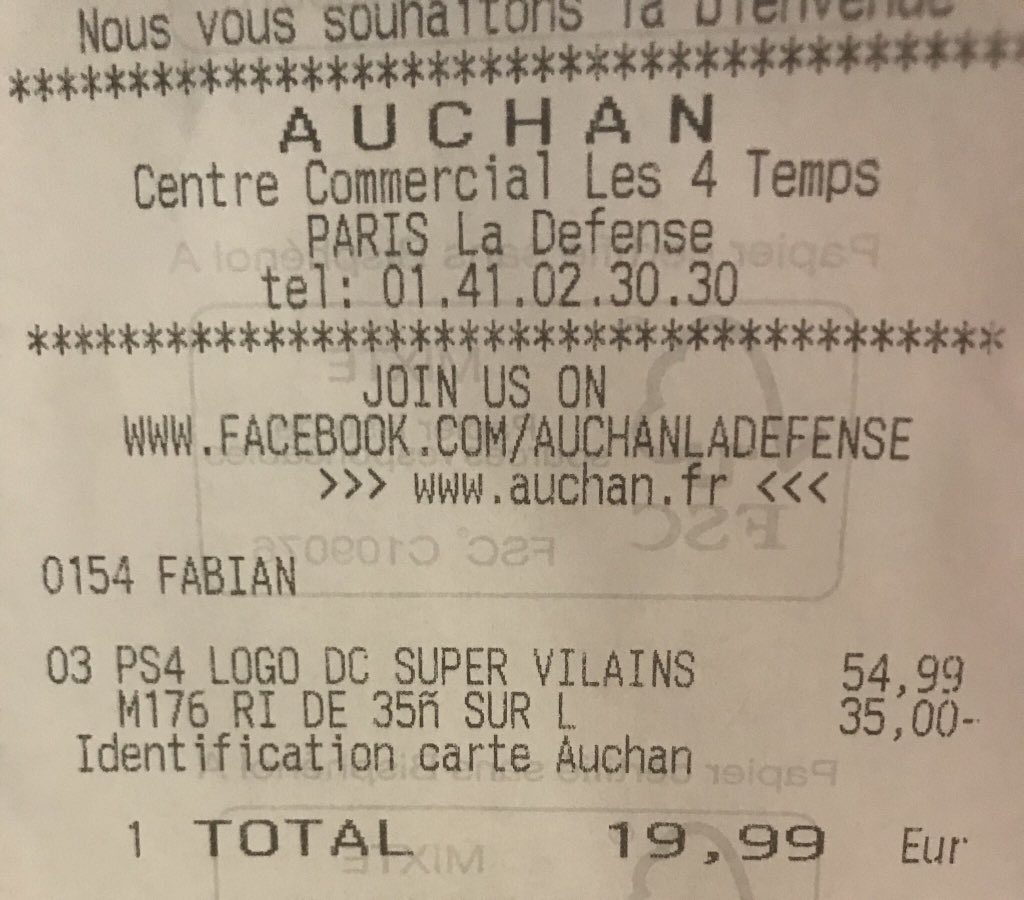 Identification Carte Auchan.Media Tweets By Kitchapy Kitchapy Twitter