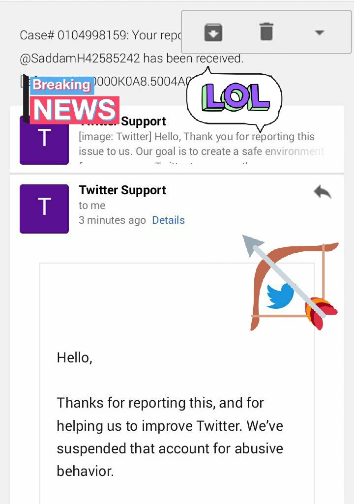 Update No:   @Twitter suspended to @SaddamH42585242   for (Violation of twitter rules) Team: Thagbandhan Category: Hater Type: Abuse Part: LW Ideology #CBIvsMamata   Reported by:  #ETF_Associates  Thanks @TwitterSupport<br>http://pic.twitter.com/oFO4cK0wwm