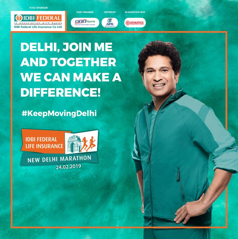 Delhi, what are you waiting for? Join me in making a difference with just 10 push-ups. Register & participate in the @IDBIFed @NDelhiMarathon #KeepMoving Push-Up Challenge & a donation will be made in your name to the War Widows Association. Register now:  https://t.co/42lQi6hwof