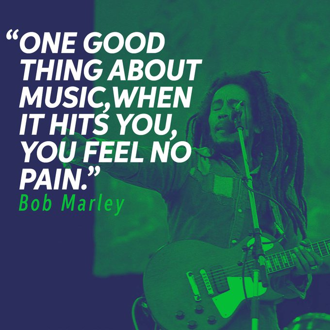 Happy 74th Birthday Bob Marley.