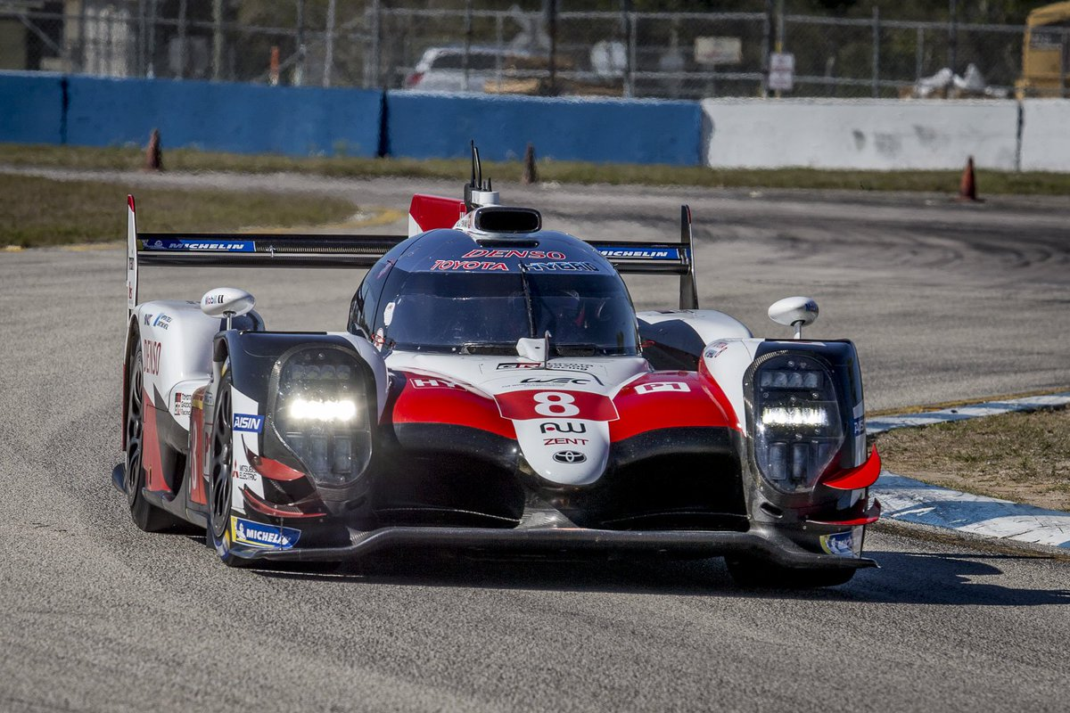 It is always exciting to come to a new track for the very first time, especially when it is such an iconic one as @sebringraceway. We could literally feel the spirit on our first @FIAWEC #1000MSebring test day here in Florida 🌴🇺🇸🐊   #RespectTheBumps #TOYOTA