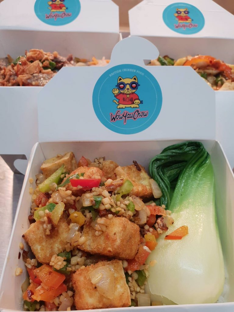 **FREE LUNCH TODAY** Free portions of our popular dishes will be on offer for visitors to takeaway and enjoy. Guests can get their hands on this tasty freebie by heading to WowYauChow between 12-1pm today. Don't miss out #Altrincham #ChineseNewYear #FreeLunch #manchester #mcr