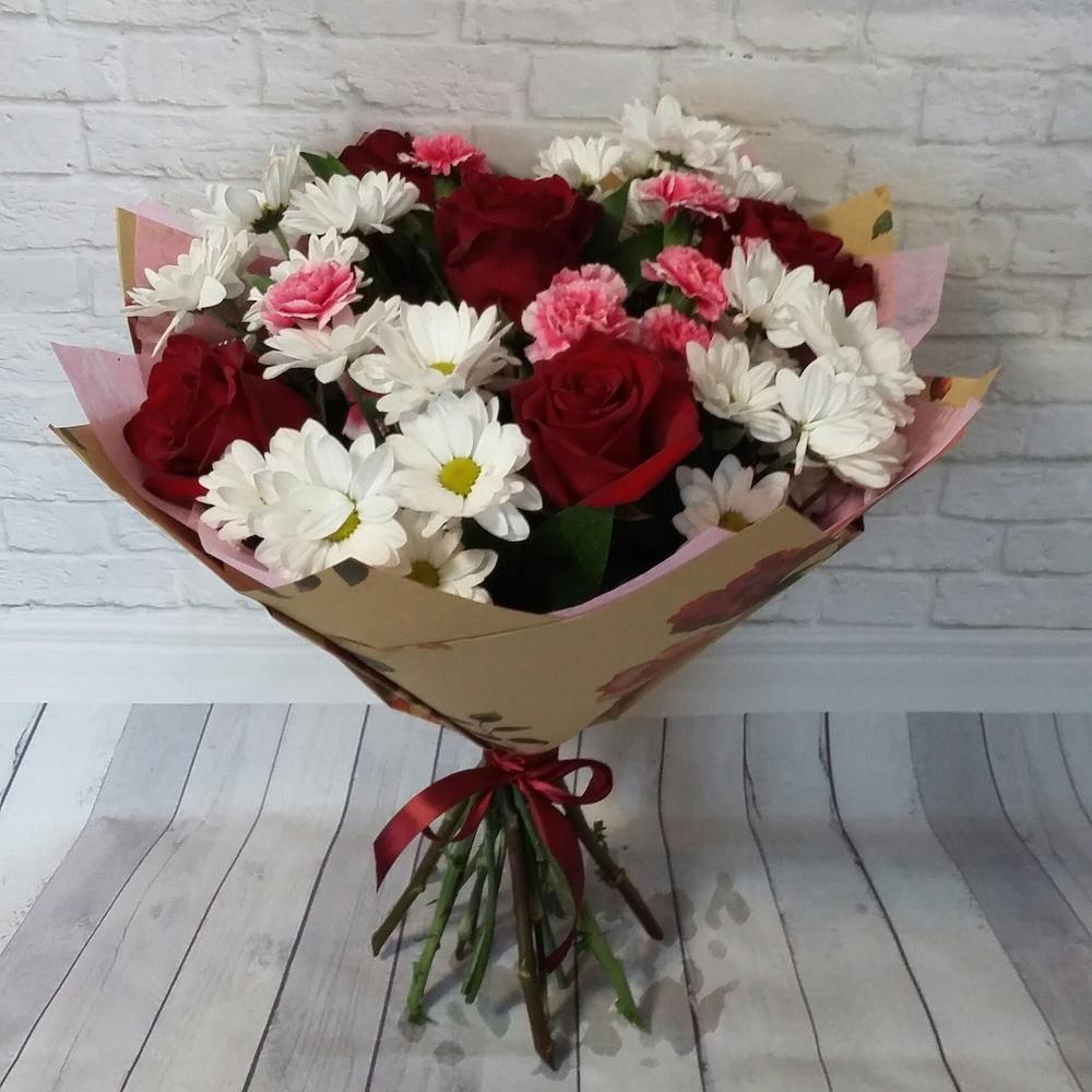 Цветы, букет на 1500 руб