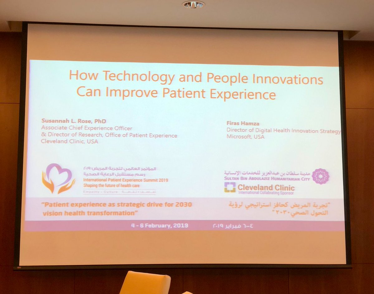 #مؤتمر_تجربة_المريض #PXSummit   Such an informative & inspiring workshop! Learned a lot about artificial intelligence & how it impacts quality of life for some patients  Thank you @Sultan_City for organizing a wonderful summit & workshops!pic.twitter.com/iy19eaKnMZ