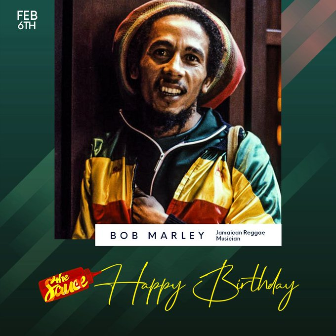 Happy Birthday to the Legend What is your favorite Bob Marley track?