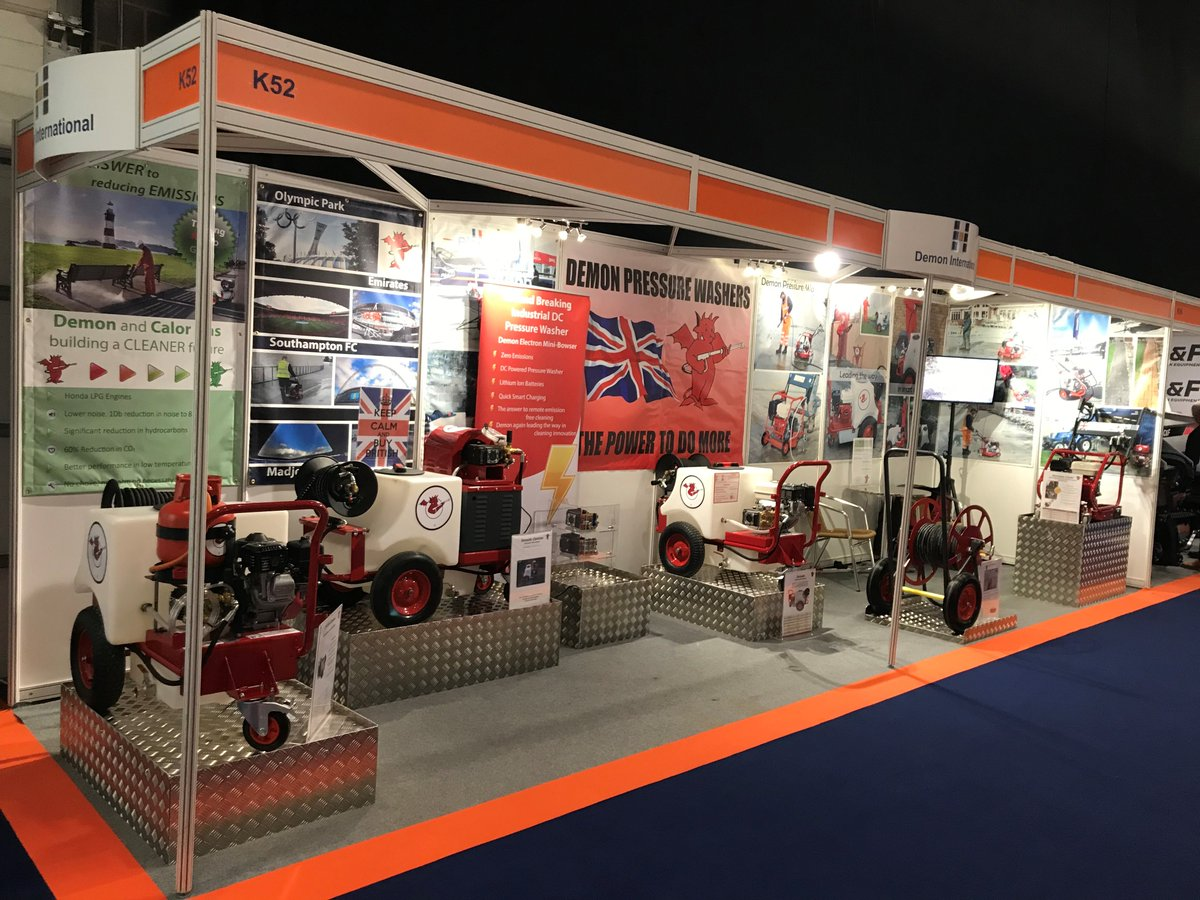 test Twitter Media - Come along and see us today and tomorrow at the @ExecHireShow in Coventry. Demon are exhibiting at stand K52.  We have our latest Electron Mini Bowser on the stand. #pressurewashers #cleaning #demonpressurewashers https://t.co/4QUwRykS2u
