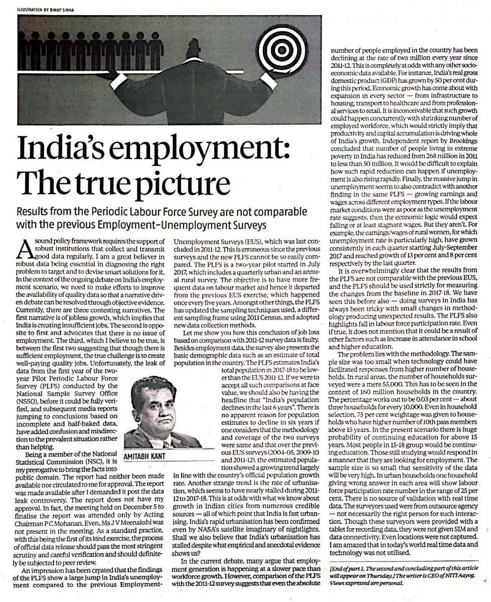 Amitabh Kant On Twitter My Article In Today S Business Standard