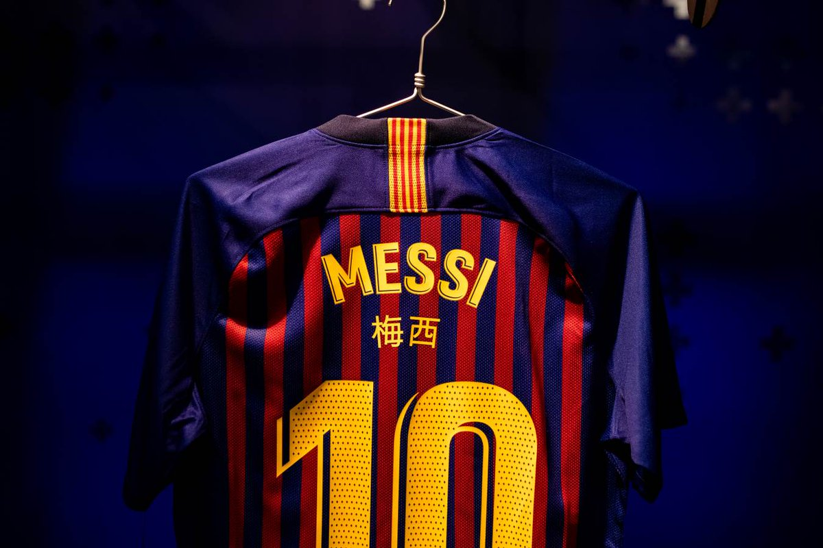 632a8cf0958a Special shirt names for a special match!  ElClásico  ChineseNewYearpic. twitter.com FWVGrwsuvh