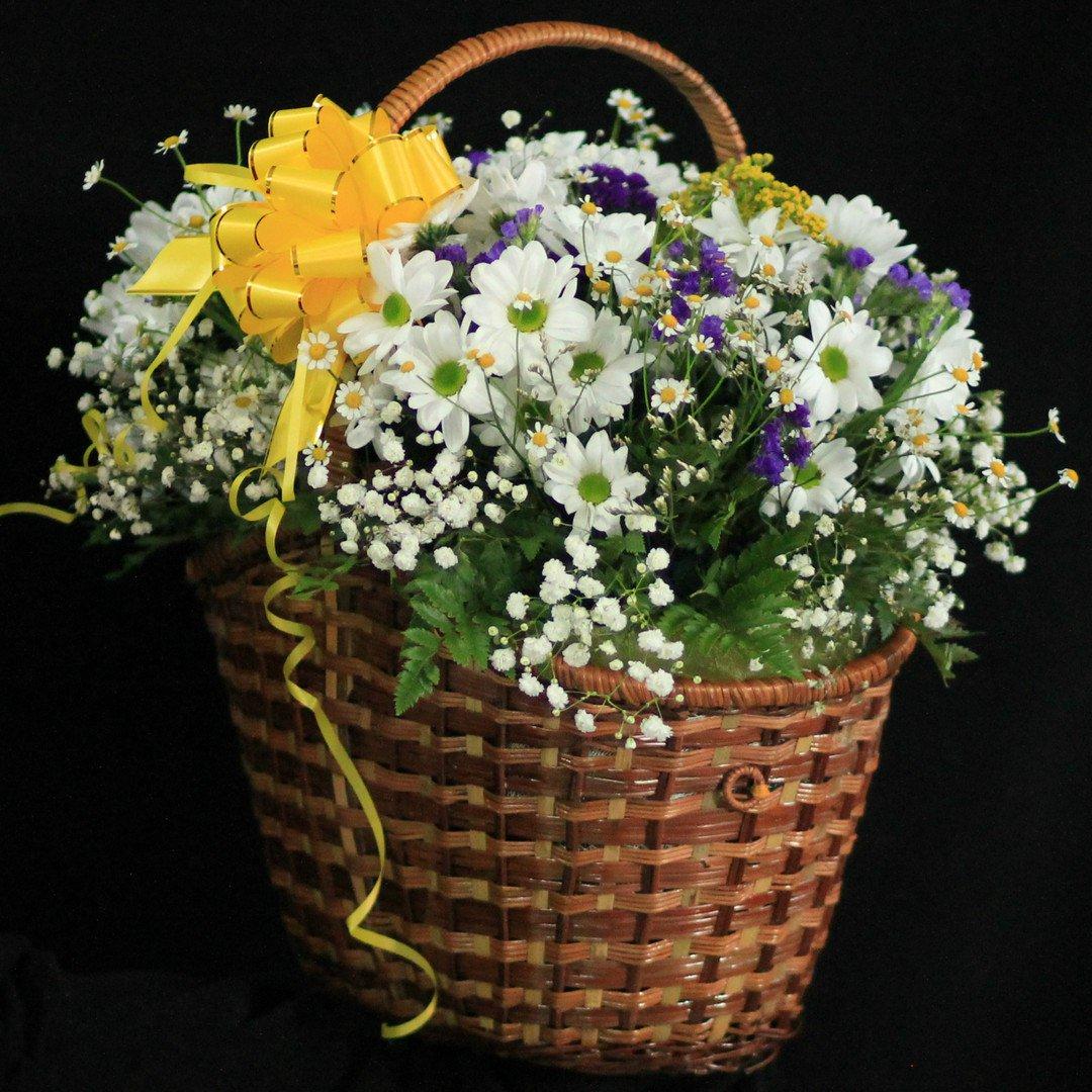 форма полевые цветы в корзинке картинка вкусный рецепт