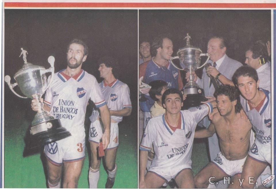Resultado de imagen para nacional campeon recopa sudamericana 1989