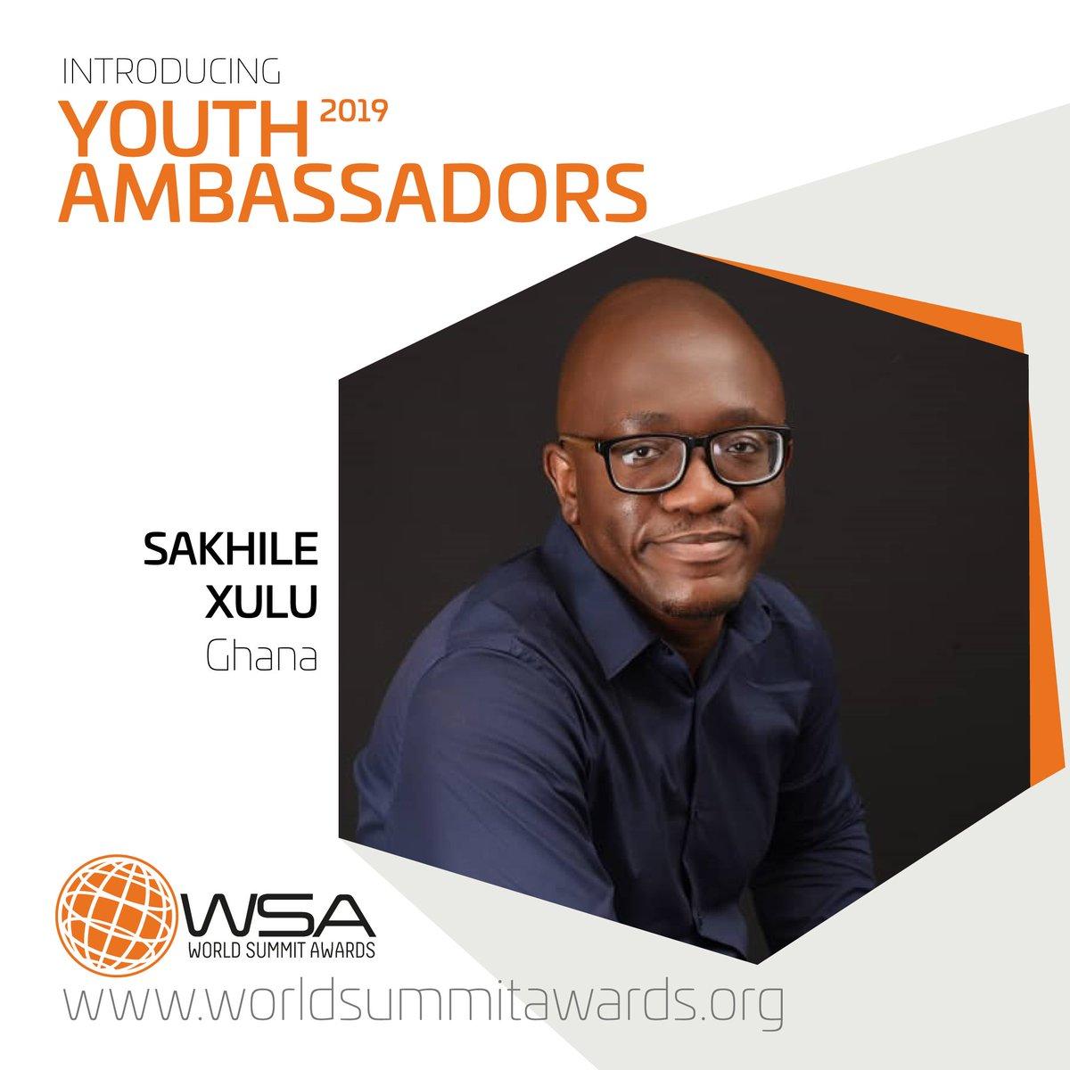 Image result for sakhile xulu + World Summit Awards