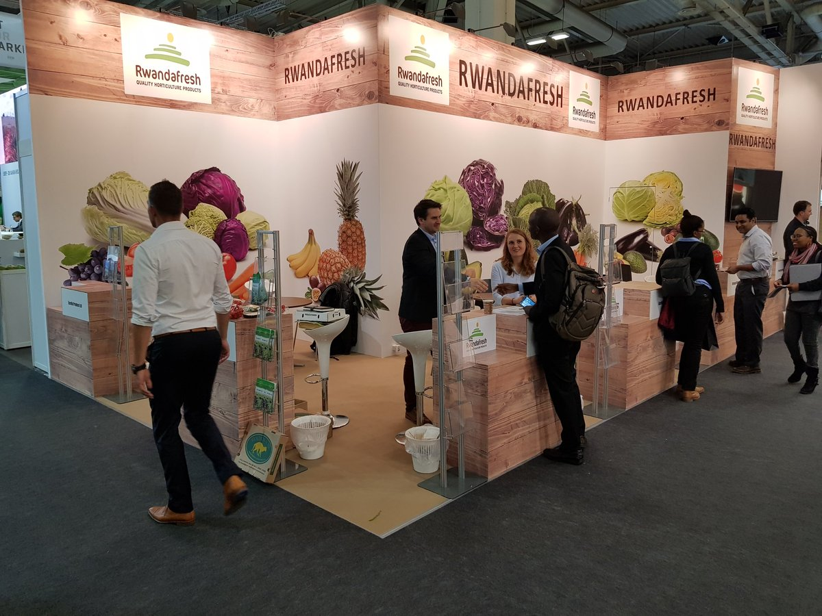 @RwandAgriExport and several exporters of agricultural products  represents #Rwanda at FRUIT LOGISTICA 2019, an International Trade Fair for Fruit and Vegetable Marketing, in Berlin:  06 - 08 Feb 2019. @Rwandafresh @RwandaAgri @RwandaMFA @Cesar_Igor_