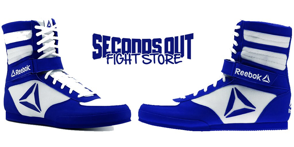 blue boxing boots