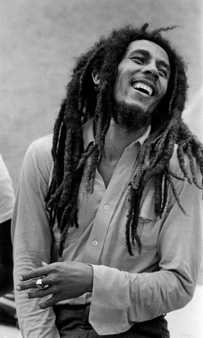 Happy Birthday Bob Marley May you continue to Rest In Peace , this spliff is for you .