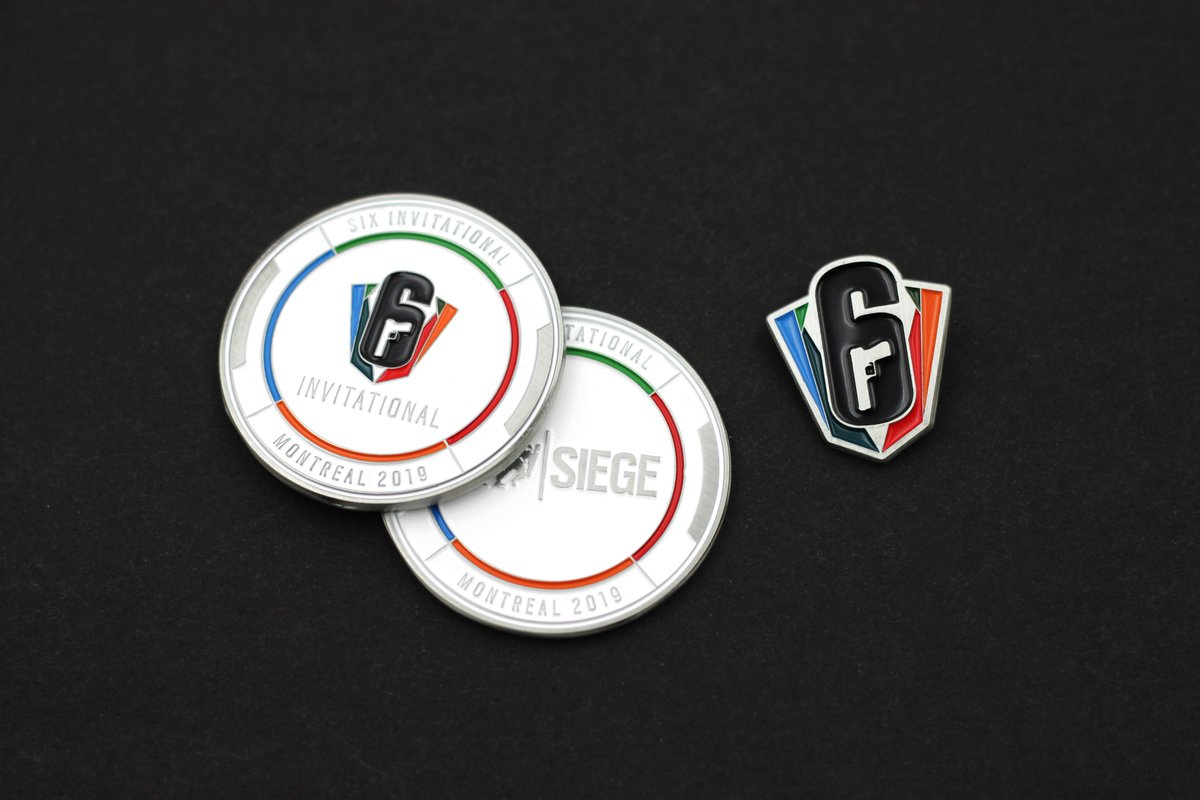 308a40642a07 The first 50 orders will also receive a BONUS Six Invitational Coin!  Available whilst stocks last.  TheKoyoStore   RainbowSixSiegepic.twitter.com vCo10FHGuH