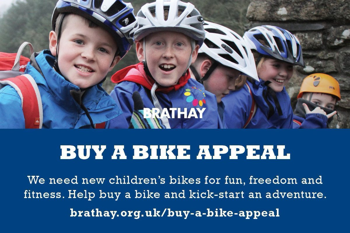 86b6fe6f464 Our Buy a Bike appeal is aiming to raise funds for 24 new bikes to be