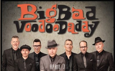 JUST ANNOUNCED: Big Bad Voodoo Daddy (@BBVD) live at The Kessler Sunday, April 7th! Tickets on sale now --> http://ow.ly/wLFL30nzKiw   #kesslertheater #oakcliff