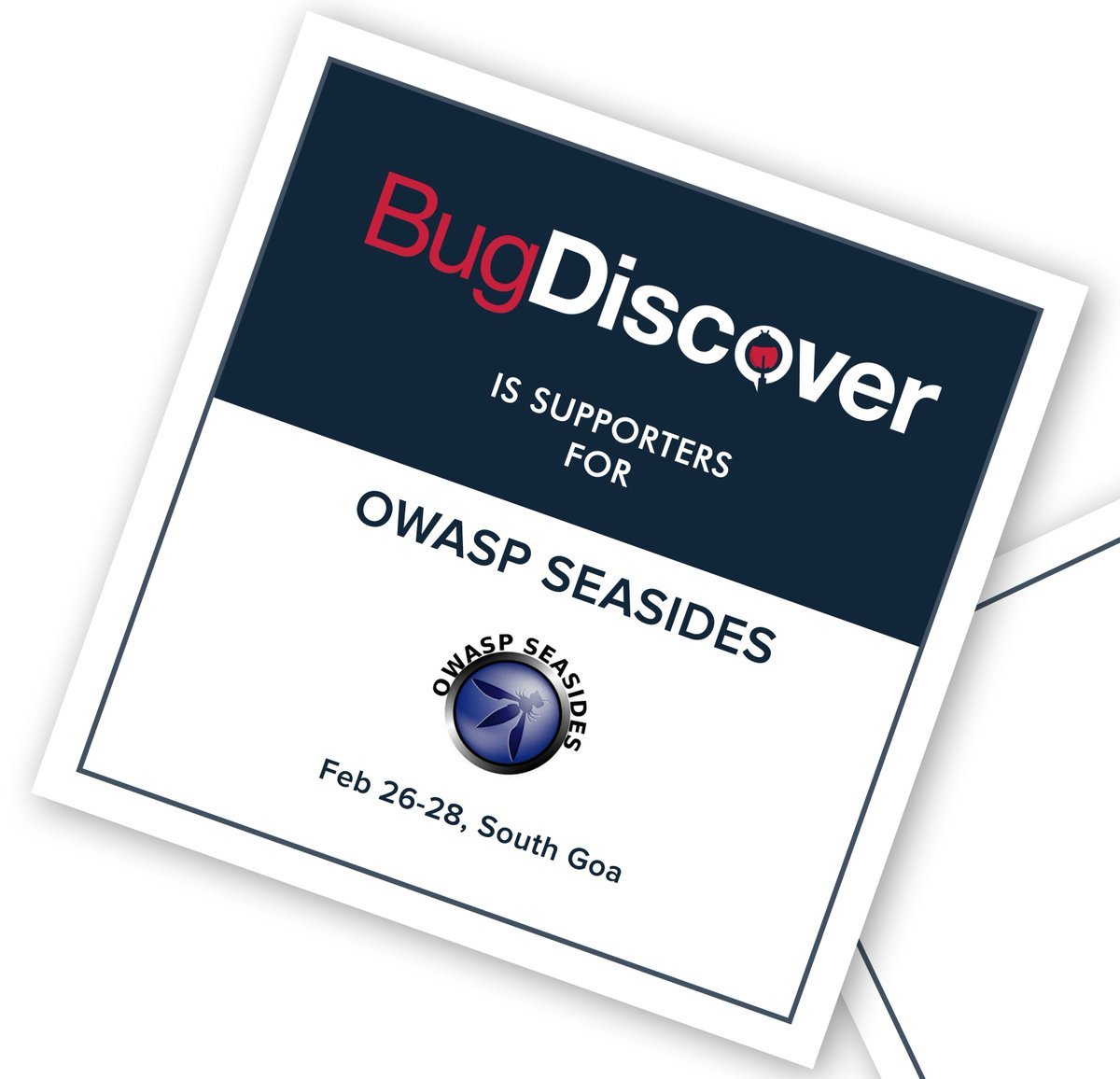 We really appreciate the great initiative taken by @Owaspseasides for the Infosec community. It's a delightful moment for us to be the supporters of the event. For more details about the event contact: https://www.owaspseasides.com/ #BugBounty #cybersecurity #infosec #crowdsourcing