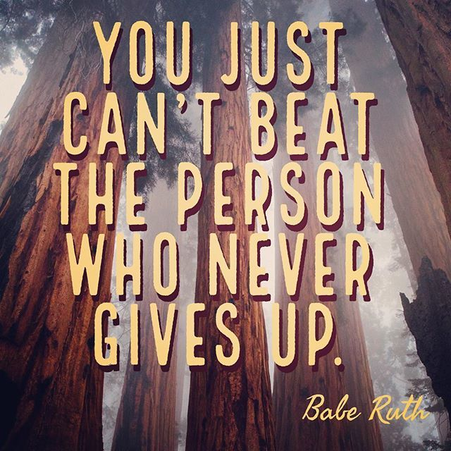 Keep Going. http://www.thelifeagents.us #todaymatters #inspiration #motivation #excellence #pin #persistence #nevergiveup #baberuth http://bit.ly/2GdaxWk
